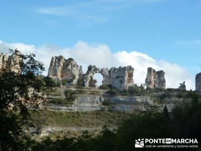 Cañones y nacimento del Ebro - Monte Hijedo;senderismo comunidad de madrid;rutas de senderismo por
